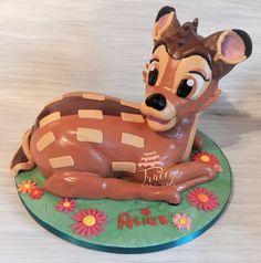 Bambi cake, all edible