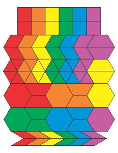 Printable Pattern Blocks (Shape Templates)