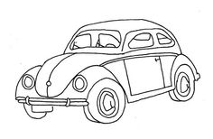 vw embroidery pattern...would make a great for pillow for griff