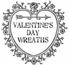 Prettiest Valentine's Day wreaths