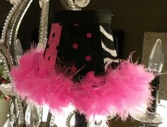 Zebra Chandelier with Mini Lamp Shades | alyssa\'s room | Pinterest ...