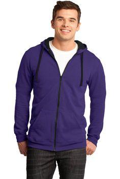 Young Mens Full-Zip Hoodie