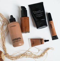 Bases de maquillaje y correctores para piel oscura – Mis favoritos