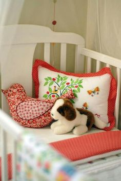 sweet vintage pillows