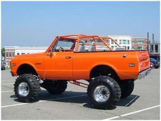 The perfect car for your Tailor, the 1969 Chevy Blazer