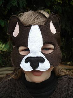 boston terrier mask