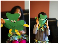 st patricks crafts for kids | St Patrick's Day Crafts for Kids | Craft Ideas for Kids