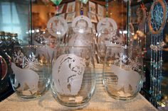 Etched Glasses