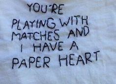 'Paper heart' 📄❤
