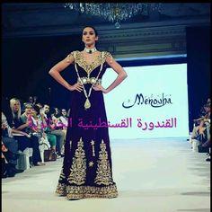 Gandoura Fergani Moderne de Constantine #algeriantraditionaldresses #Algérie…