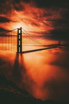 """ Golden Gate Bridge // Jude Allen """