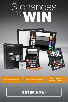 Enter Win in the X-rite Video Giveaway - Total $667 in Prizes! X-rite will change the way you see color and will speed up your post production.