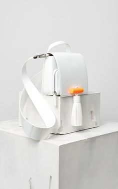 Sailor Bag, WHITE, KENZO
