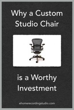Recording Studio Chairs: 6 Smart Options for Home Studios Audio Studio, Recording Studio Design, Sound Studio, Have Fun Teaching, Studio Equipment, Audio Room, Recorder Music, Studio Furniture, Home Studio