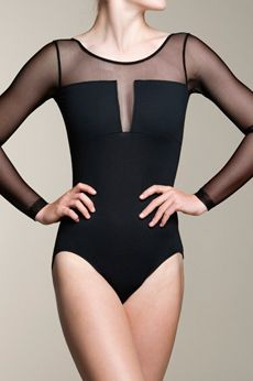 This stunning Nadia bodysuit with mesh will turn heads, and make you…