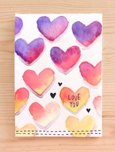 DIY Valentines Day Cards - Easy DIY Valentine's Card With Minimal Supplies - Easy Handmade Cards for Him and Her, Kids, Freinds and Teens - Funny, Romantic, Printable Ideas for Making A Unique Homemade Valentine Card - Step by Step Tutorials and Instructions for Making Cute Valentine's Day Gifts http://diyjoy.com/diy-valentines-day-cards