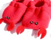 Too cute baby gift. Lobster shoes.