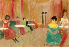Edvard Munch - Brothel Scene, 1897-99