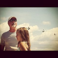 those father + daughter moments....memories to last a lifetime