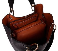 Amazon.com: Tibes Fashion Waterproof Shoulder Bag Synthetic Leather Handbag Large Tote Black: Clothing