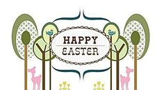 Send Some Easter Love With These Free Printable Cards: Happy Easter Card by Benign Objects