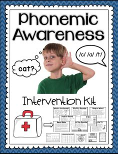 Sarah's First Grade Snippets: Phonemic Awareness Intervention Pack: Part 2