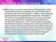 History of Abstract Painting