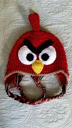 Love the way this Angry Birds hat came out!