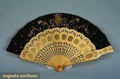 Victorian Fan   c. Mid 19th Century