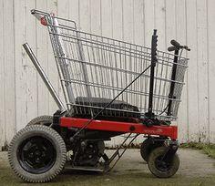 Shopping cart hot rod