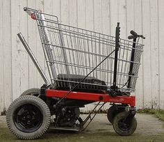 Shopping cart hot rod