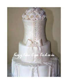 Dress Wedding Cake