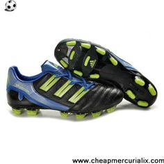 buy online 998f1 219ba Authentic Adidas Predator XI TRX FG Boots Black Cyan Green Football Boots Soccer  Cleats, Nike