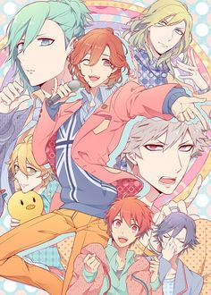 Tags: Microphone, Frown, Shivue, Stuffed Bird, Uta no☆prince-sama♪, Shinomiya Natsuki
