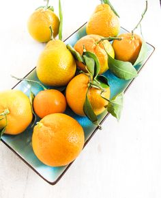 Satsuma Tangerines for a Lovely Salad {Katie at the Kitchen Door}