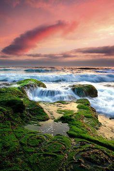 Seascape from the South Coast of Australia