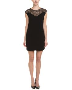 Halston Heritage Black & Lace Dress is on Rue. Shop it now.