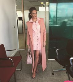 "megan_mckenna_ on Instagram: ""Press day @itv #Allpinkeverything #misspap #meganxmisspap #Towie """