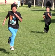 Two dedicated runners at the Boys & Girls Club of Oxnard and Port Hueneme.