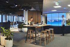 BNZ Wellington Partners Centre   Best Awards Showroom, Interior Architecture, Centre, Awards, Space, Table, Furniture, Design, Home Decor