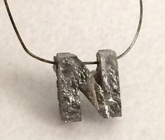Monogram Initials Personalized Jewelry Grey by gemsforjewels
