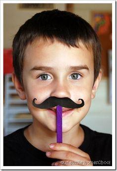 Caps for Sale~Handlebar Moustache