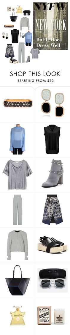 """New York City Does Not Sleep"" by canoe-communicationsblog ❤ liked on Polyvore featuring Roberto Coin, Emilio Pucci, Valentino, Emporio Armani, TIBI, J.W. Anderson, Balenciaga, Lafayette 148 New York, Bond No. 9 and Kenneth Cole"