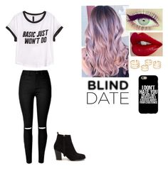"""""""Untitled #446"""" by ange-2008 on Polyvore featuring H&M and Nly Shoes"""
