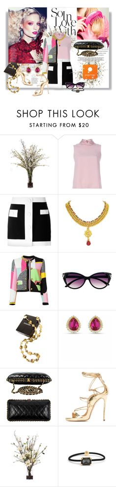 """""""Watch Me"""" by railda-pereira ❤ liked on Polyvore featuring Lux-Art Silks, Chanel and Elizabeth Arden"""