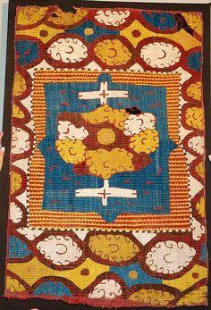 Kaitag,silk embroidered, Daghestan, Caucasus.