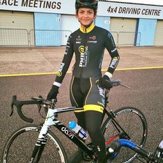 Junior, Amber Joseph came 2nd in her first circuit race on her #custompainted Dassi bike.