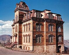 Very old Fourth Ward School in Virginia City NV now a museum and shop.
