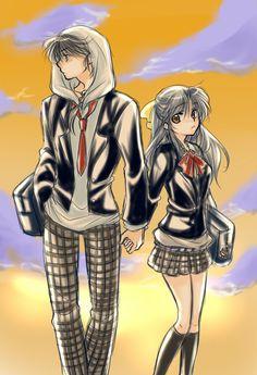 Ranma & Akane by yodareyoshi