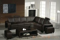 Divani Casa 3330   Modern Leather Sectional Sofa Set With Coffee Table Part 53